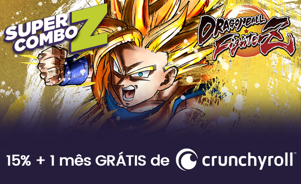 Dragon Ball FighterZ - 15% + 1 mês Crunchyroll