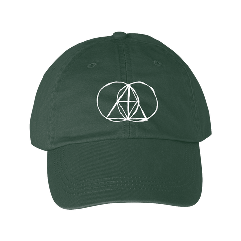 Sketched Dad Hat - Spruce