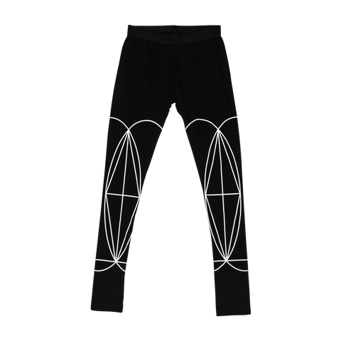 Women's Double Sided Geometry Leggings