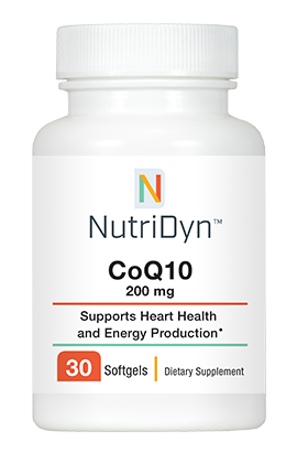 CoQ10 200mg (Energy and Cardiovascular Support)