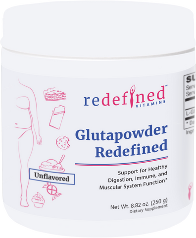 Glutapowder Redefined (formerly Pure GlutaPowder™)