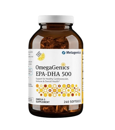 OmegaGenics EPA-DHA 500 Fish Oil