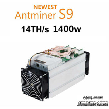 Bitmain Antminer S9 14th/s, Delivery April 25 - 2018