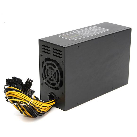 NEW 1800W Power Supply for Server Miner Machine Power Supply For 6 GPU ETH BTC Ethereum Antminer S7 S9 T9 for Mining