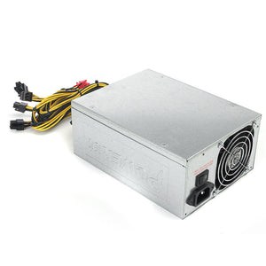 1800W Mining Machine Power Supply For Eth Bitcoin Miner Antminer S7 S9 90 Gold Aluminum Miner Machine