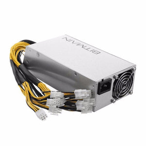 1600W Bitmain APW3++ PSU Mining Machine Power Supply Built-in Cooling Fan for Antminer Bitcoin Miners S9 S7 L3+ D3 Free Shipping