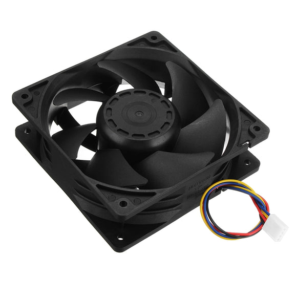 New 5500RPM Cooling Fan Replacement 4-pin Connector For Antminer Bitmain S7 S9 High Quality Computer Cooler Cooling Fan For CPU