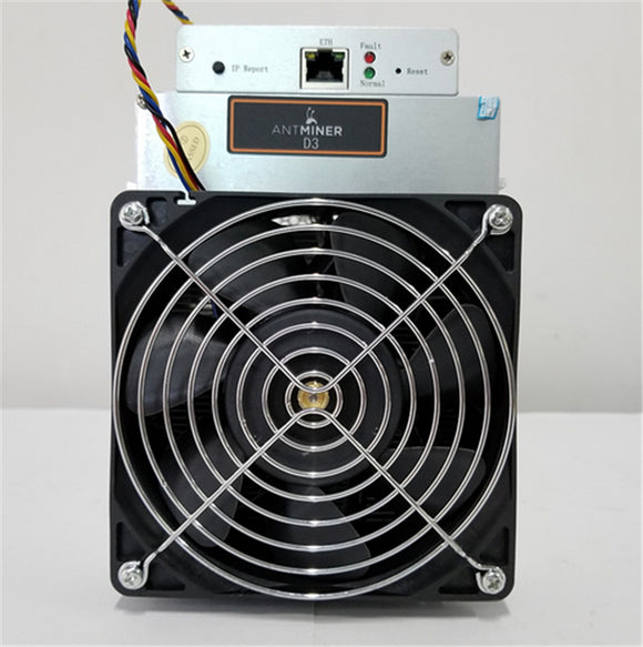 NEW Bitmain Antminer D3 DASH Miner 19GH/S ASIC DASH COIN Mining Machine Whit Power Supply