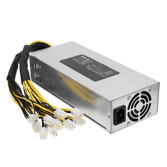 1800W Coin Mining Power Supply 93% For L3+D3 S7 S9 Antminer BTC Miner Machine High Quality computer power supply For BTC
