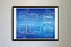 DMC DeLorean (1981-82) da Vinci Sketch Art Print Blueprint