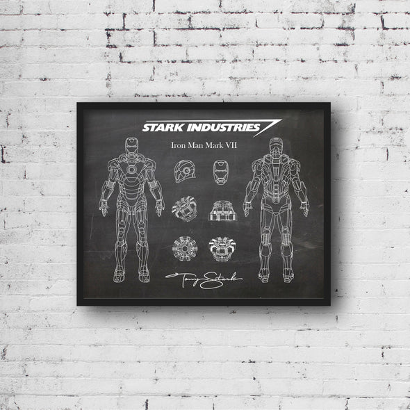 Iron Man Mark VII Art Print (#494)