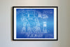 StarWars AT-AT Art Print Blueprint