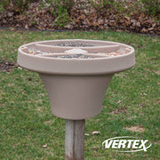 Bird Bistro™ Squirrel Baffle With Platform Feeder
