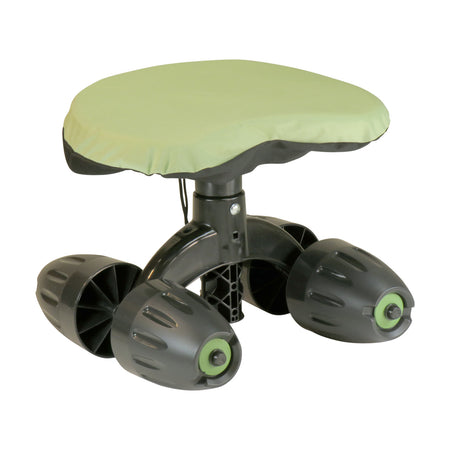 Garden Rocker™ Rolling Comfort Seat™ With Cushion