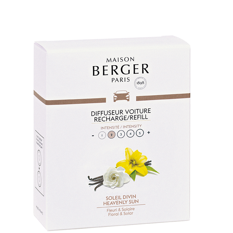 Maison Berger Heavenly Sun Car Diffuser Refill