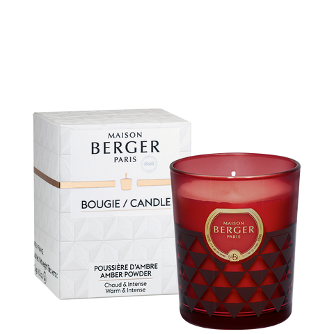 Maison Berger Clarity Burgundy Amber Powder Scented Candle
