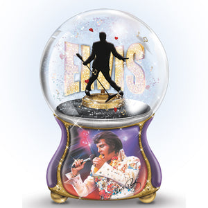 Elvis Burning Love Globe
