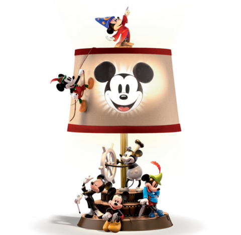Mickey Mouse Through the Years Lamp