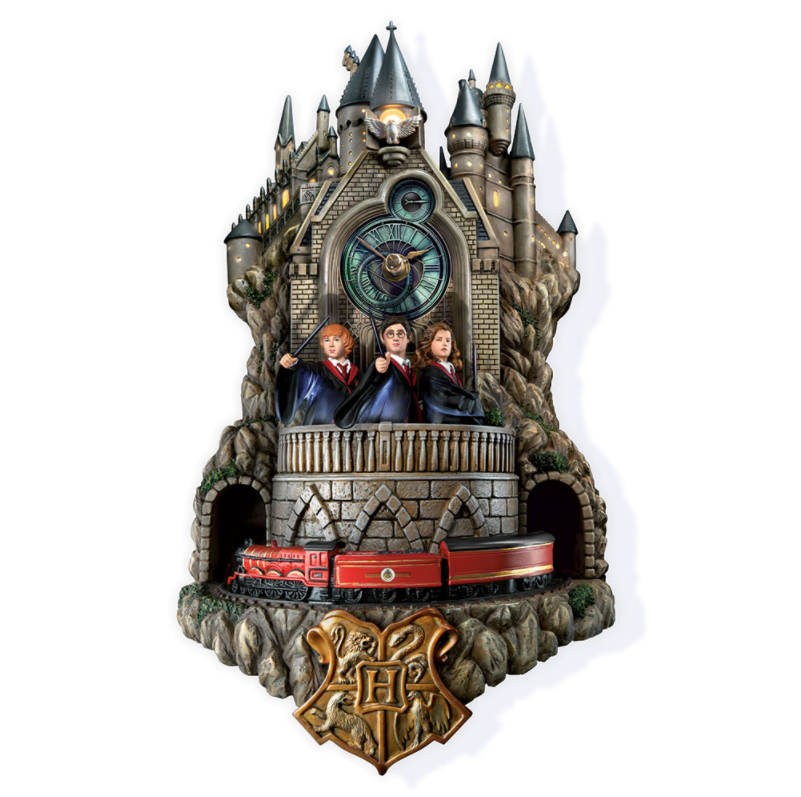 Harry Potter Hogwarts Clock