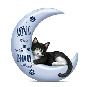 Love To Moon/back - Cat