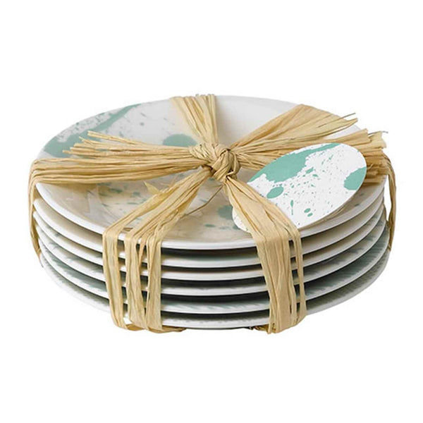 Pacific Mint Tapas Plates (Set of 6)