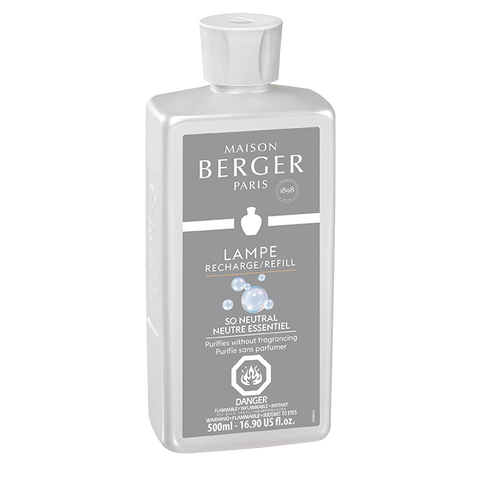 Maison Berger Lamp Refill Neutral 500 ml