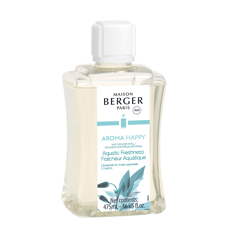 Maison Berger Aroma Happy Mist Diffuser Fragrance- Aquatic Freshness 475ml