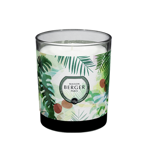 Maison Berger Immersion Grey Scented Candle - Lychee Paradise
