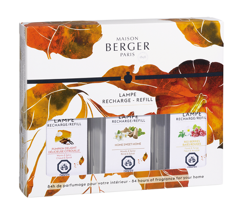 Maison Berger Seasonal Lamp Fragrance Trio Pack