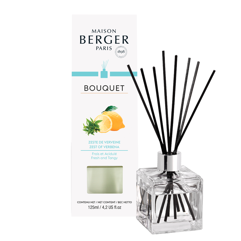 Zest Of Verbena Cube Reed Diffuser