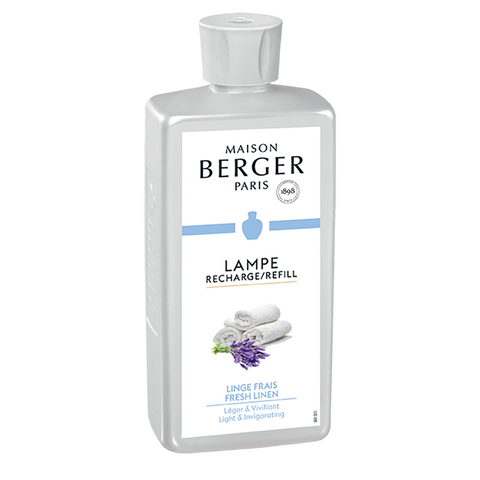 Maison Berger Lamp Refill Fresh Linen 500 ml