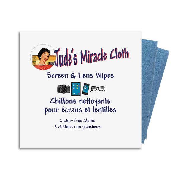 Jude's Screen & Lens Wipes