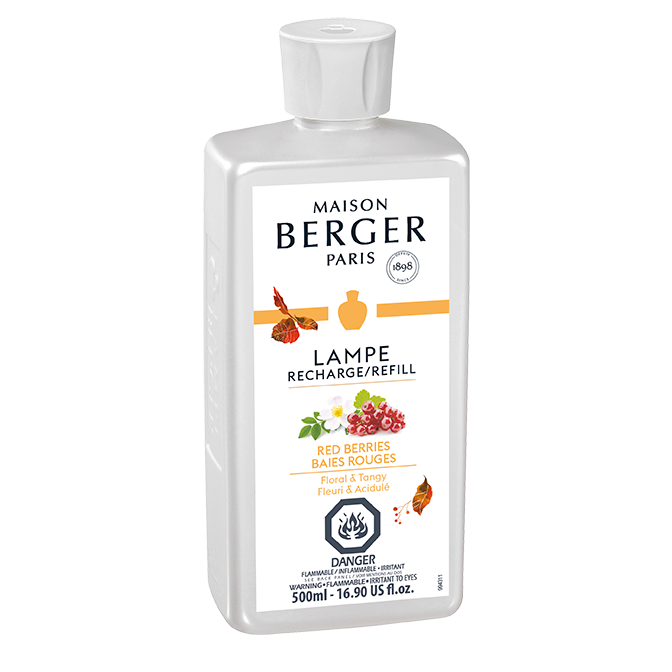 Maison Berger Lamp Refill Red Berries 500 ml