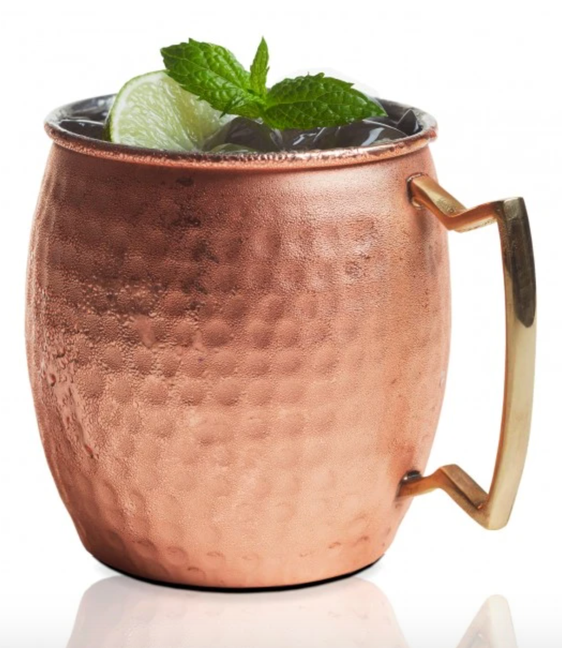 Copper Hammered Belly Shape Moscow Mule Mug
