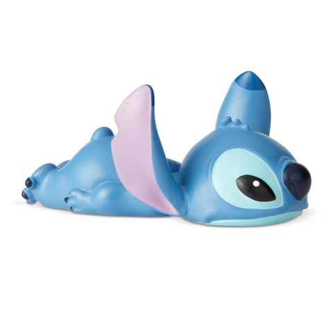 Stitch laying down mini figurine