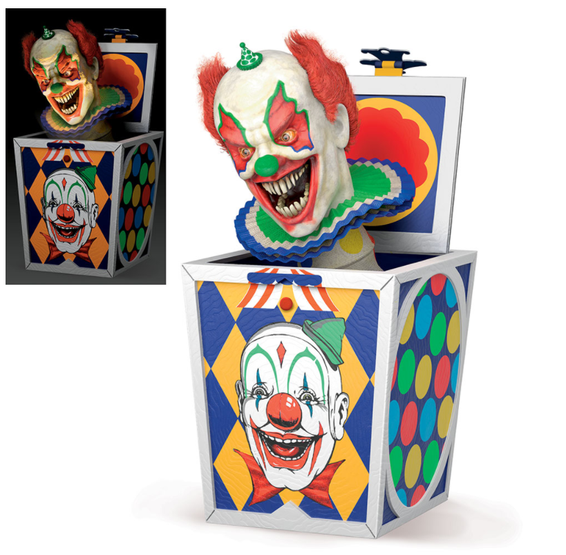 Faces of Fear - Clown