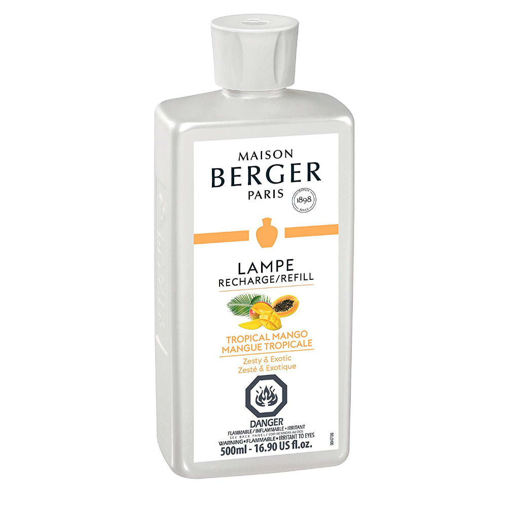 Maison Berger Lamp Refill Tropical Mango 500 ml