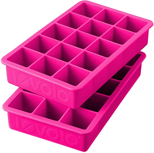 Perfect Cube Ice Trays – Set of 2