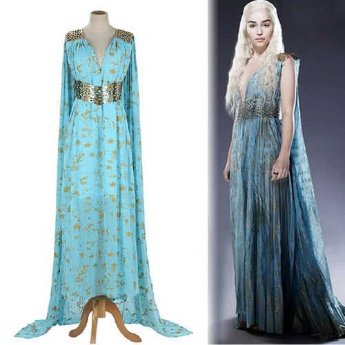 Costume de Daenerys - Game Of Thrones