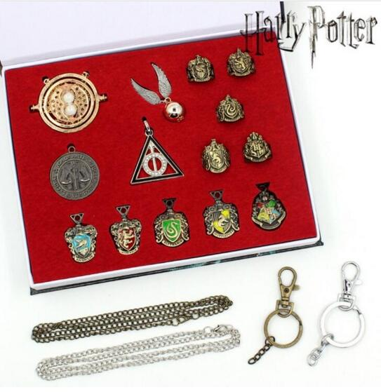Coffrets de collection Pendentifs et Armoiries - Harry Potter
