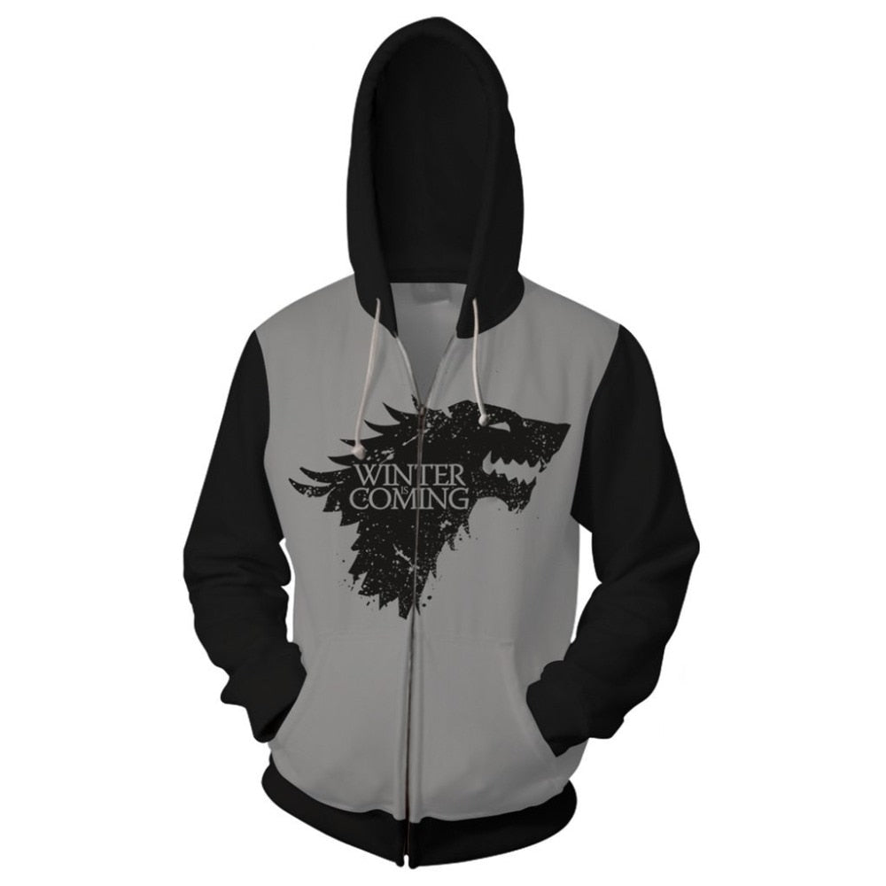 Veste zippée Stark - Game Of Thrones