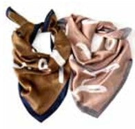 LOVE IS IN THE AIR SQUARE SCARF