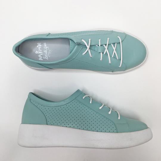 BAY BAN SHOE - SEA GRASS PERF