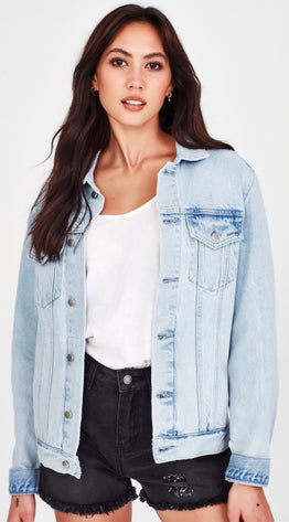ERINA OVERSIZED DENIM JACKET