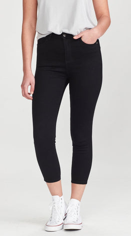 BOWIE SHORT STUFF JEANS -BLACK