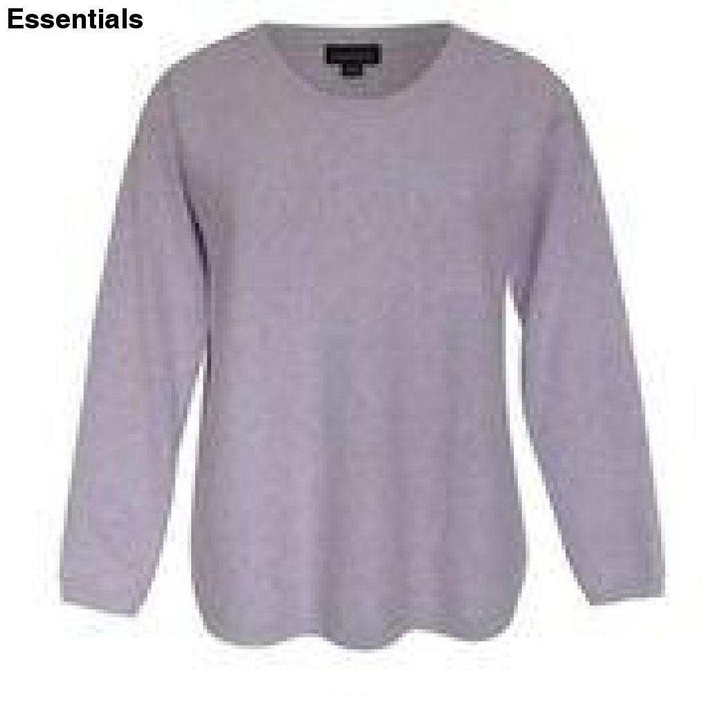 Tolsey Sweater -Soft Lilac Top