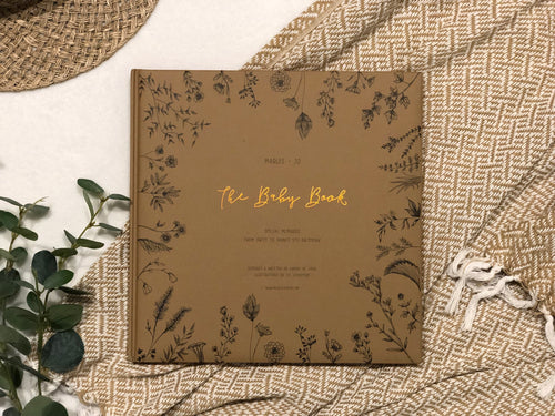 The Baby Book Limited Edition - Nature Collection