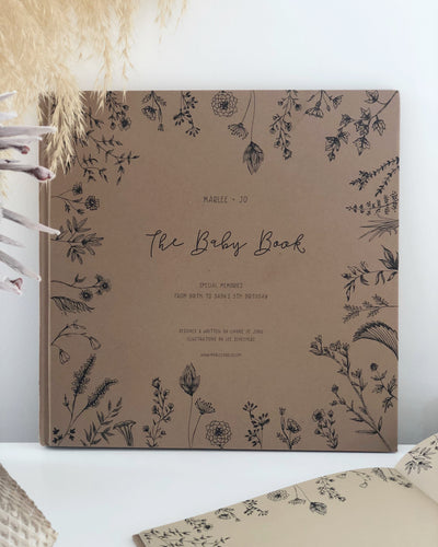 The Baby Book - Nature Collection