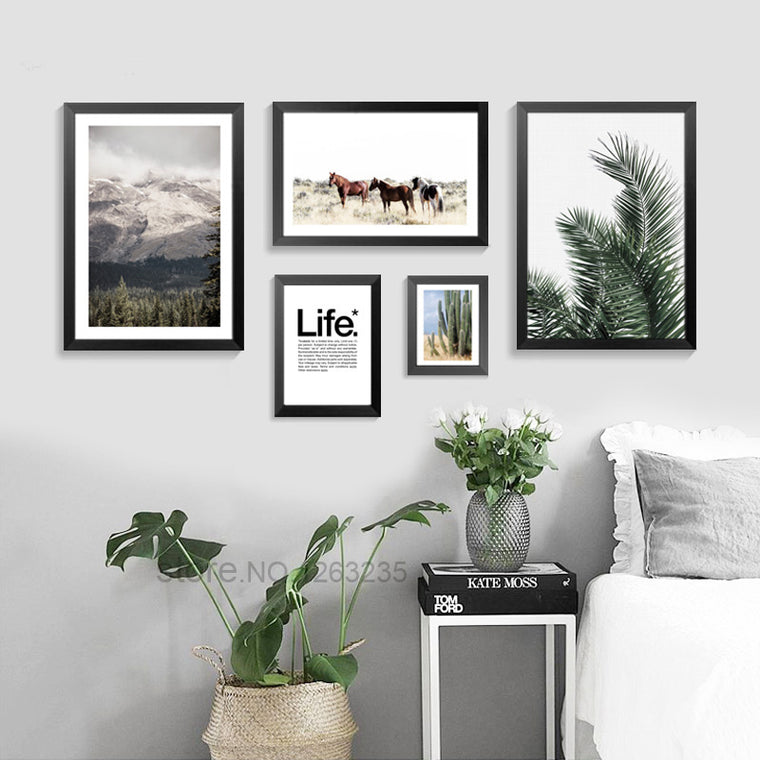 American Southwest Minimalist Style Canvas Prints