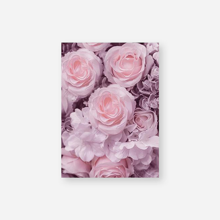Blooming Pink Flower Canvas Print